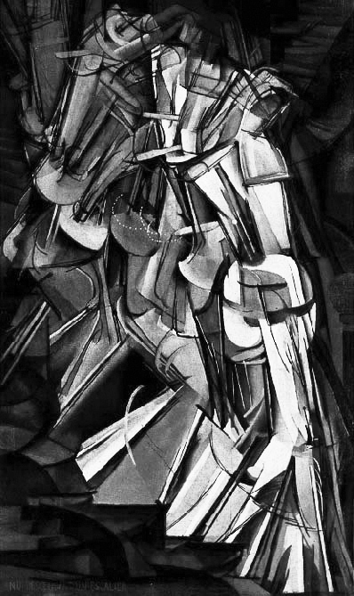 Inspiration for Movement — Duchamp's Nude Descending a Staircase