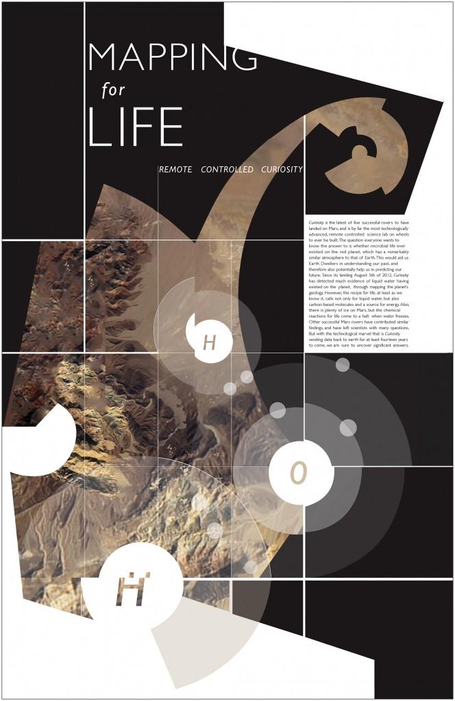 Mars Curiosity Rover—Final Poster