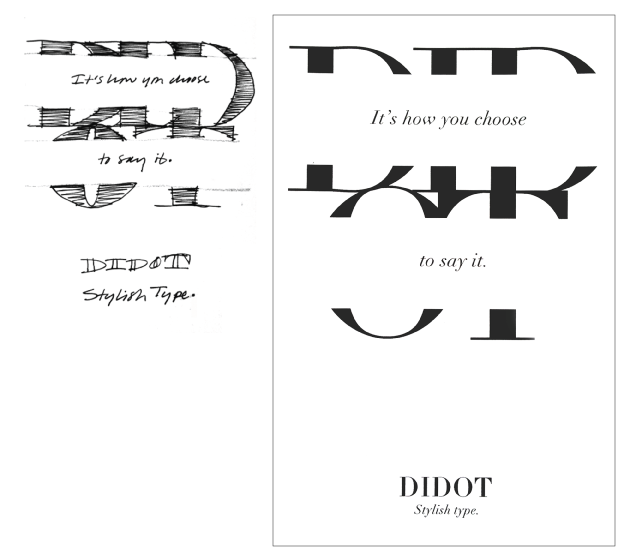 Didot Type Poster